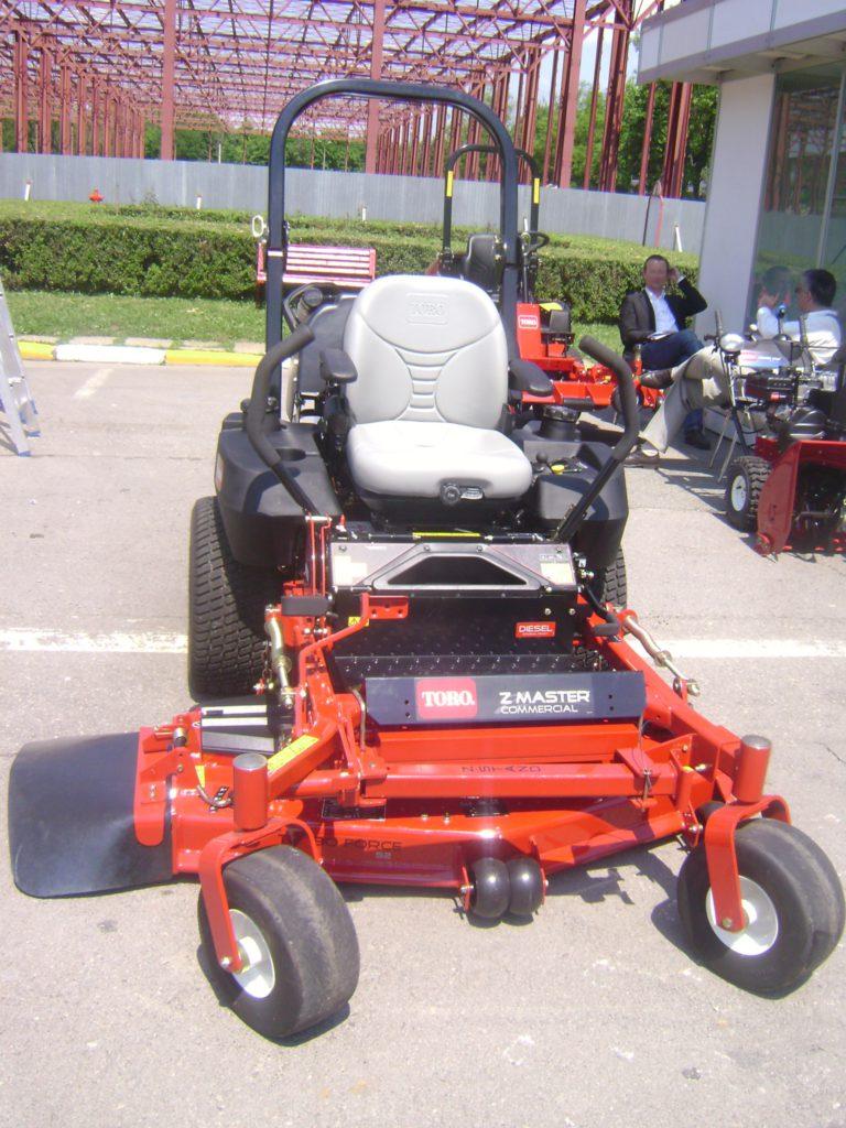 ZTR mower